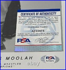 Wwe The Fabulous Moolah Hand Signed Autographed 8x10 Promo Photo With Psa Coa