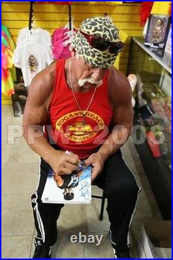 Wwe Tna Hulk Hogan 8x10 Hand Signed Promo Photos With Picture Proof And Coa