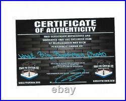 Wwe Wwf The Big Bossman Hand Signed Original Authentic Promo Photo With Coa Rare