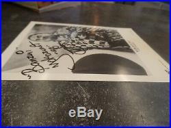 Yokozuna Signed WWF Original B/W 8x10 Belt Promo Photo WithCOA